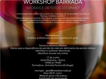 Iº Workshop Bairrada Aromas e Defeitos do Vinho