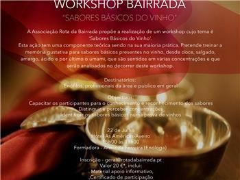 IIº Workshop Bairrada - Sabores Básicos do Vinho