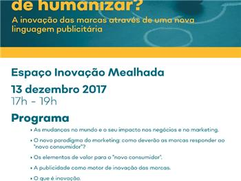 Workshop - E se inovar for  sinónimo de humanizar?