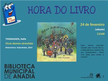 Anadia: Hora do Livro na Biblioteca Municipal