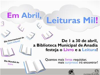 "Anadia: ""Em abril, leituras mil"" na Biblioteca"