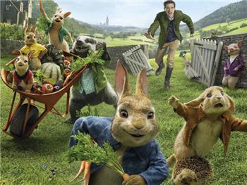 "Cinema em Anadia: ""Peter Rabbit""  2D VP  M/6"
