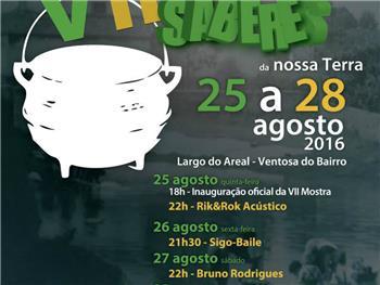 VII MOSTRA DE SABORES E SABERES DA NOSSA TERRA