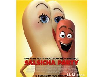"""Cineteatro Anadia: """"Salsicha Party""""  M/14"""