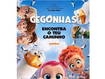 """Cineteatro Anadia: """"Cegonhas 2D VP"""" M/6"""