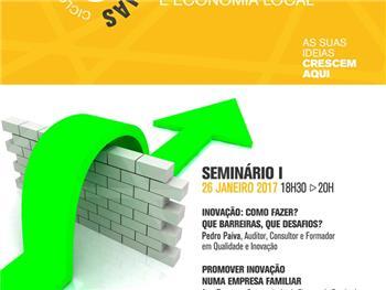 Ciclo de Conferências - Inovação, Empreendedorismo e Economia Local