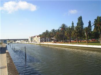 Canal das Pirâmides da Ria de Aveiro