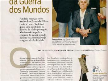 Espumante 91 Anos de História Bruto Zero 2007 - Revista de Vinhos