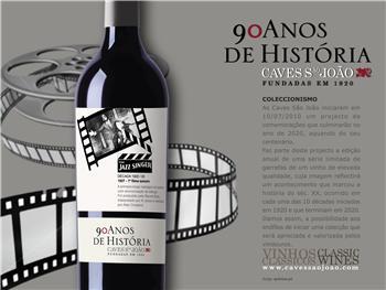 Colecção limitada de 10 garrafas comemora centenário da São João